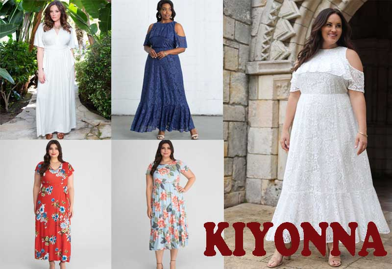11 Best Selling Plus Size Maxi Dresses from KIYONNA