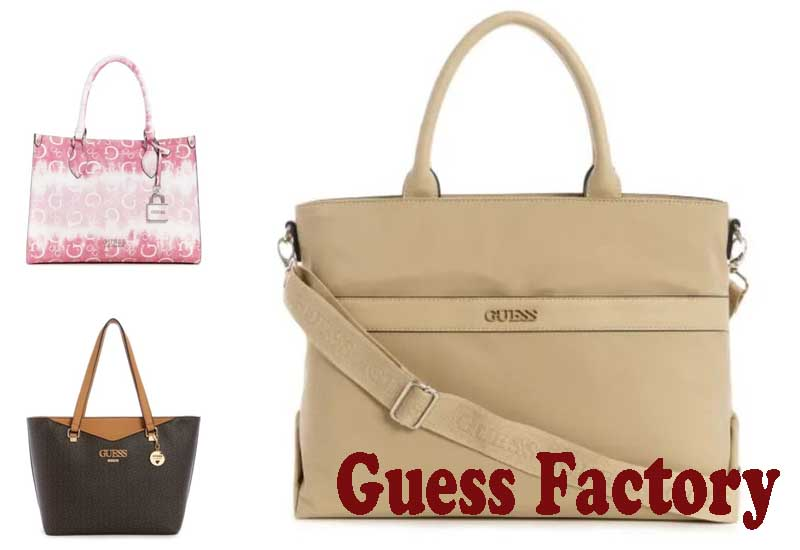 11 Best Selling Totes from Guess Factory