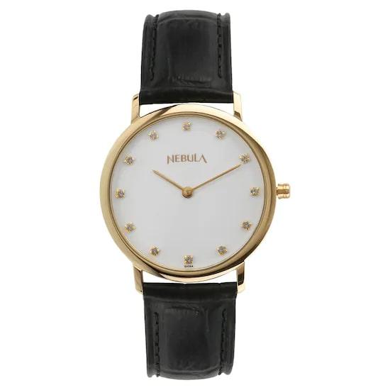 18 Karat Solid Gold Analog Watch 5