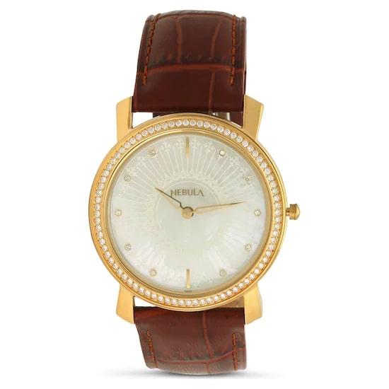 18 Karat Solid Gold Analog Watch 6