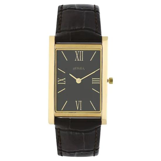 18 Karat Solid Gold Analog Watch