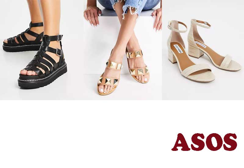 8 Best Selling Womens Leather Sandals from ASOS