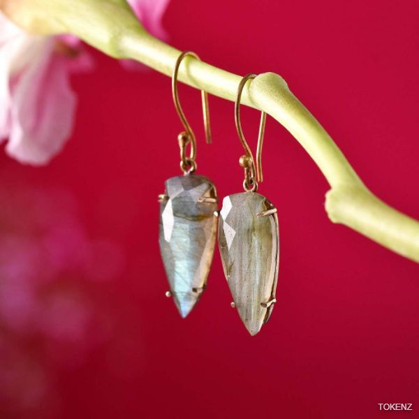 Magnificent Labradorite Earrings