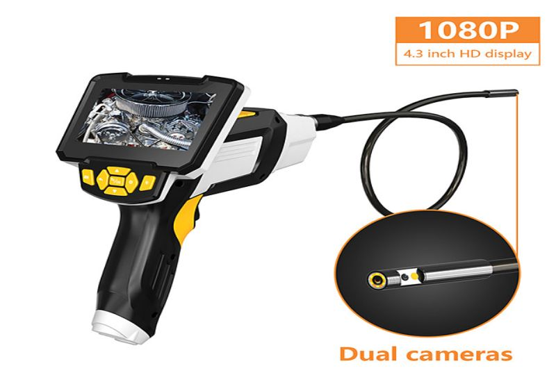 4 Best Selling Dual Lens Handheld Endoscopes