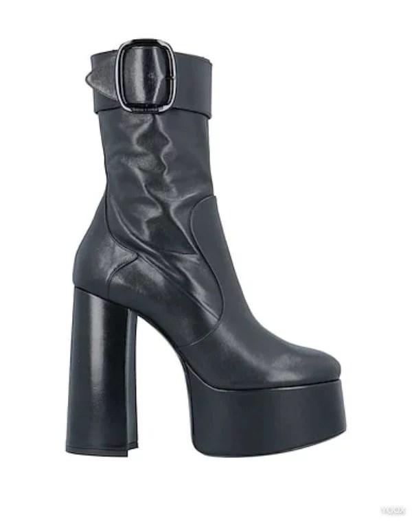 SAINT LAURENT - Ankle boots 8