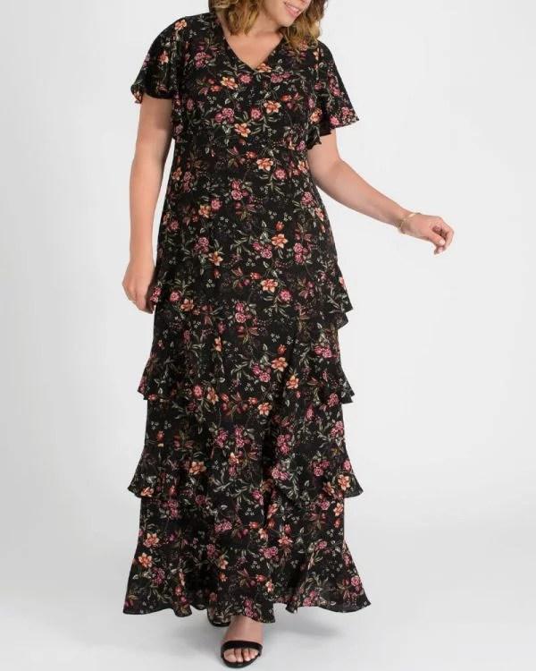 Tour de Flounce Maxi Dress - Sale