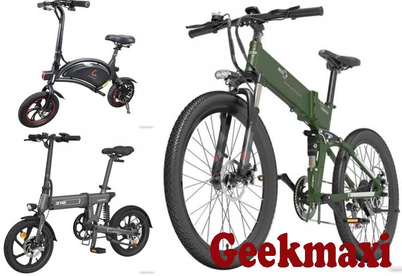 9 Best Selling E-Bikes from Geekmaxi