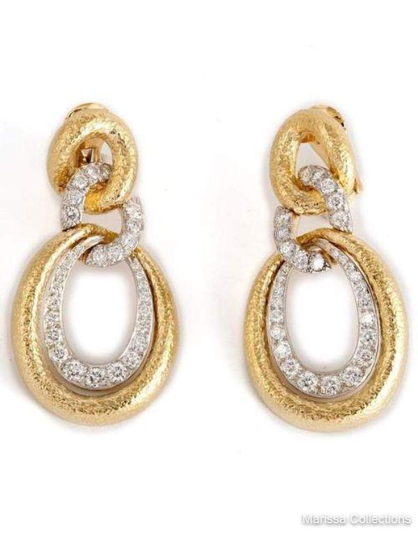 DAVID WEBB - Madison Earrings