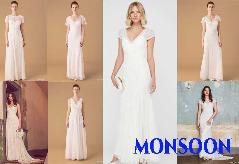 11 Best Selling Bridal Dresses from MONSOON