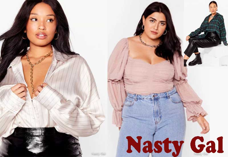 13 Best Selling Plus Size Tops from Nasty Gal