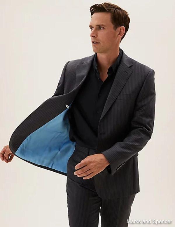 British Fabric Regular Fit Pure Wool Jacket 2