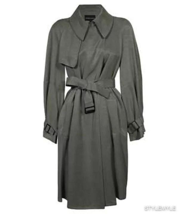 EMPORIO ARMANI - Emporio armani trench coat