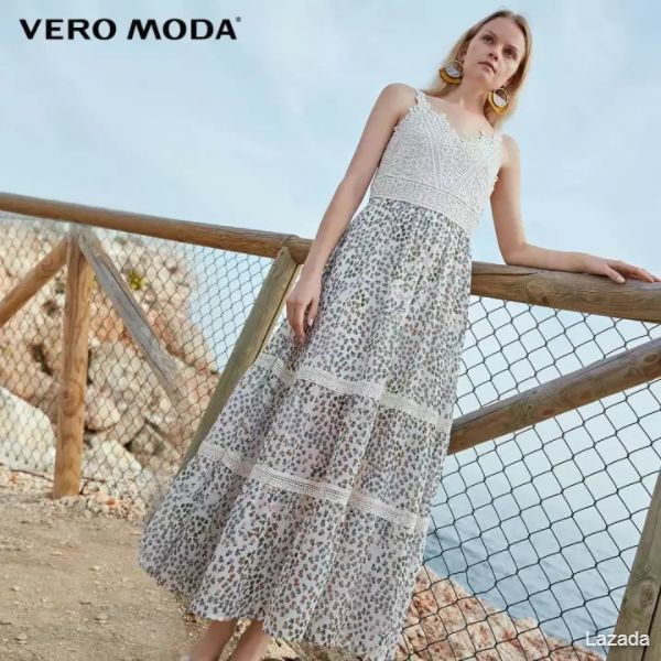 Vero Moda Women's Floral Lace A-lined Dress31937A515