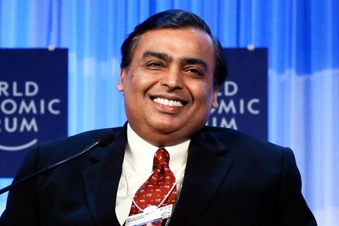 mukesh ambani enter in world's top 10 rich people list