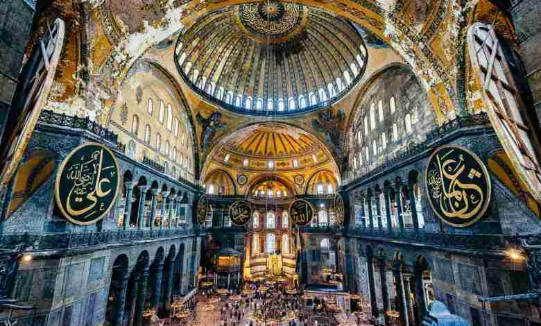 Turkey Hagia Sophia converted from Museum to a Mosque2919-2