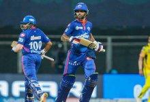 Photo of IPL : दिल्ली कैपिटल्स ने चेन्नई को 7 विकेट से हराया