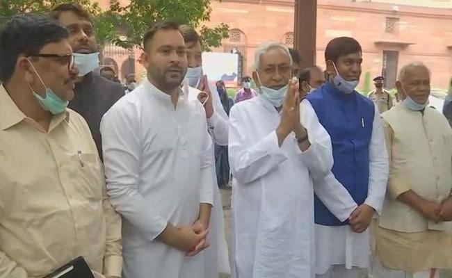 bihar political leaders meets pm over caste census