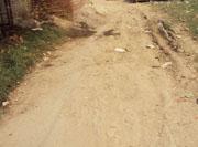 सड़क का हवै या हाल