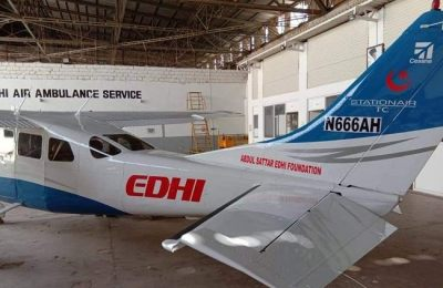 Edhi Foundation, air ambulance, pakistan, Edhi