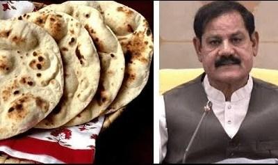 Mushtaq Ghani, roti, KP Speaker, KP Assembly