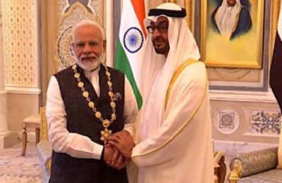 UAE, Modi, Order of Zayed, highest, civilian award, UAE Modi