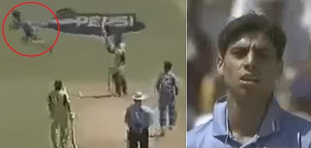 Ashish Nehra, M.S. Dhoni, Pakistan, India, ODI match