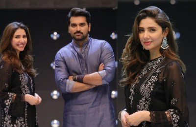Mahira Khan, Fahad Mustafa, show