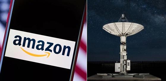 Amazon, space internet,