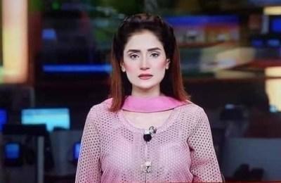 Twitter, GNN, anchor, dressing, criticism, Pakistan news anchor dressing