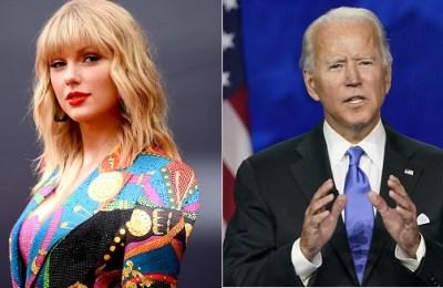 Taylor Swift, Joe Biden, US President, Presidential candidate
