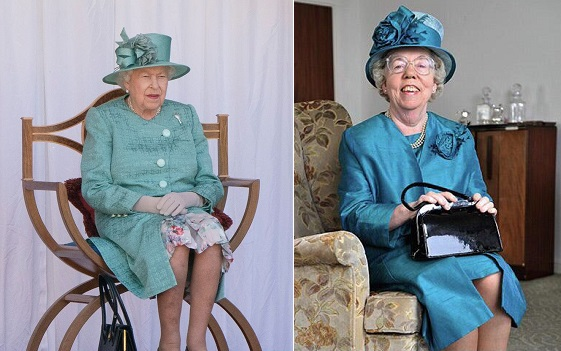Queen Elizabeth, body double, Queen Elizabeth body double