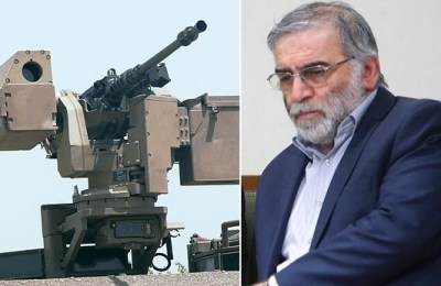 Mohsen Fakhrizadeh, Rear Admiral Ali Fadavi, machine gun, remote-controlled, artificial intelligence