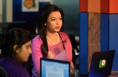 Anchorwoman, Bangladesh, first transgender news anchor