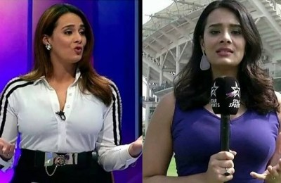 Mayanti Langer, sports anchor, India