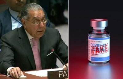 Pakistan, fake COVID-19 vaccine, UN forum, Fake COVID vaccine