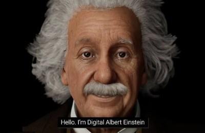 Albert Einstein, digital Albert Einstein