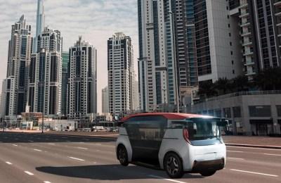 Dubai robot taxis, Dubai