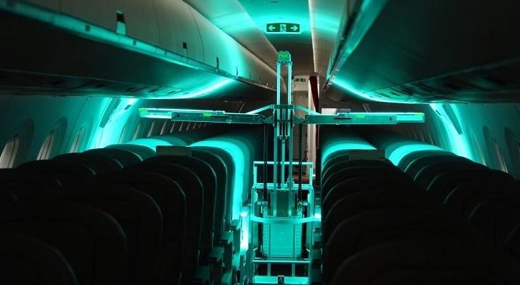 Coronavirus, Swiss robots, UV light disinfect, passenger planes, Swiss robots coronavirus