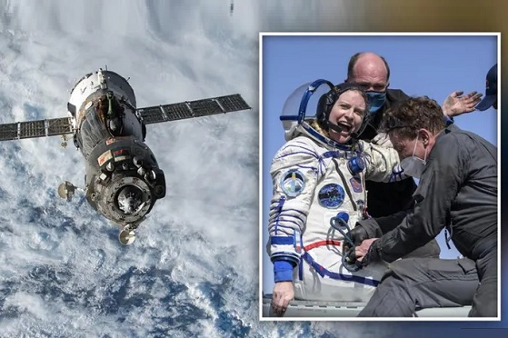 ISS astronauts, Earth, mission space, ISS space mission