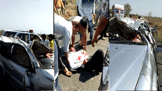 seoni n h 7 accident news 2019