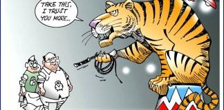 cartoon on maharashtra election
