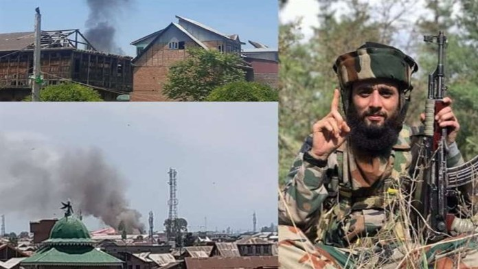 Encounter in Kashmir: 2 terrorists, including Hizb top commander Junaid, 3 security personnel injured in Nawakadal encounter