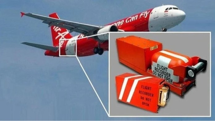 black box in plane