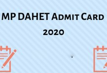 MP-DAHET-Admit-Card-2020