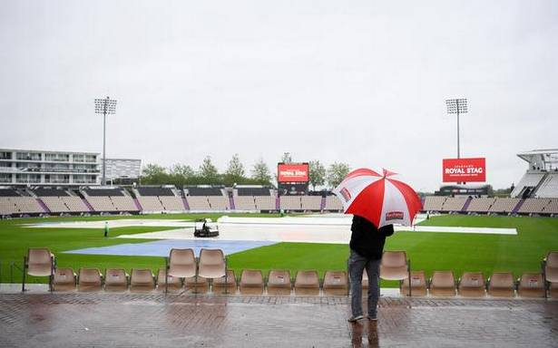World Test Championship final: First session rained out