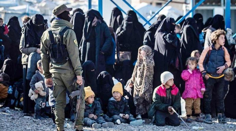الحملة الأمنية في مخيم الهول مستمر.. ومصادرة أسلحة