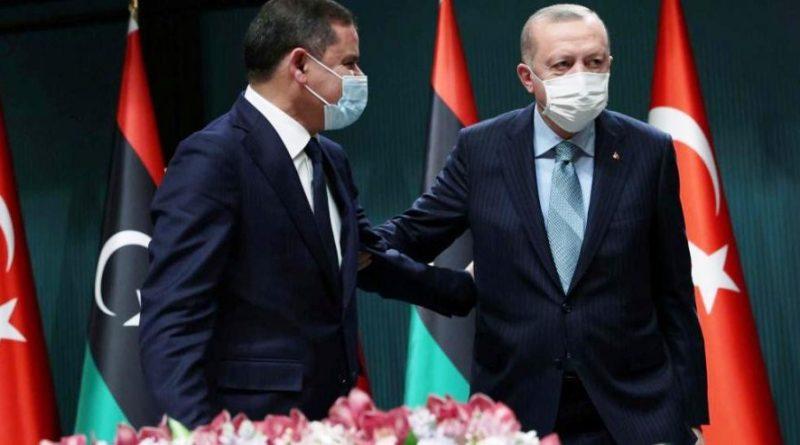 أردوغان والدبيبة يتباحثان العلاقات الثنائية في اتصال هاتفي