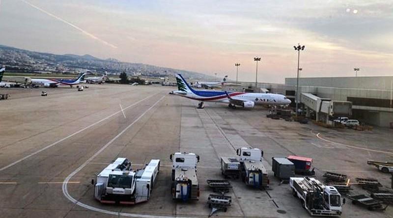 أزمة البنزين تتسبب باندلاع حريق في مطار رفيق الحريري بلبنان