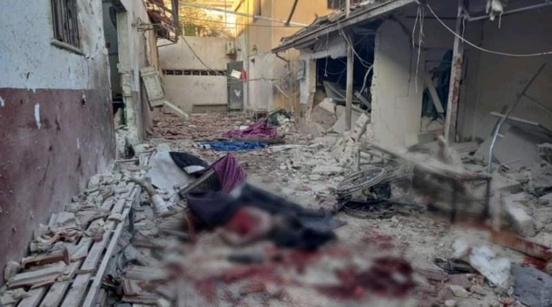 قسد تقصف عفرين وتوقع ضحايا مدنيين وتستهدف مشفى الشفاء