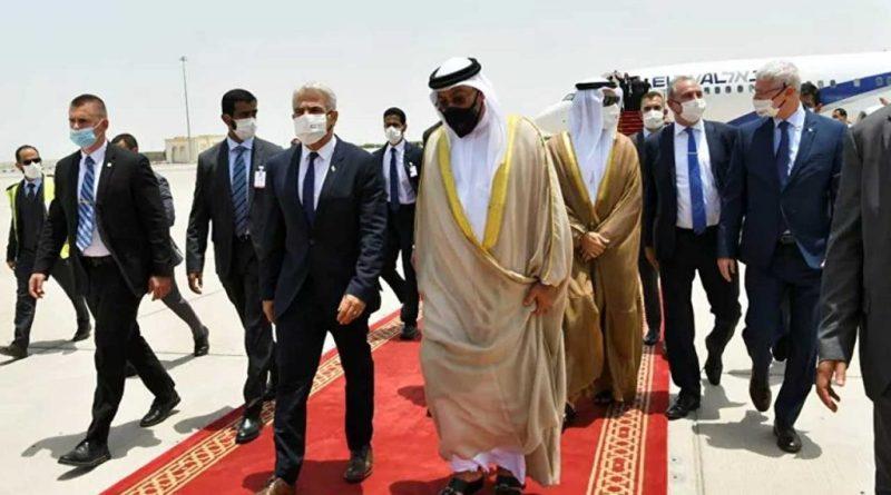 افتتاح السفارة الإسرائيلية في أبو ظبي بحضور وزير خارجية إسرائيل